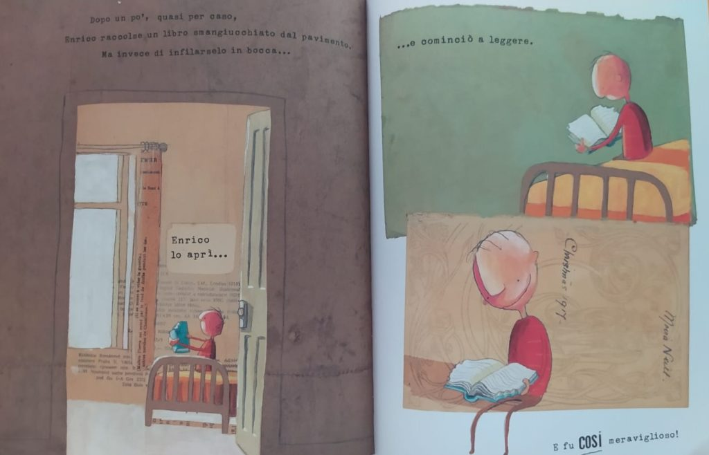 L'incredibile bimbo mangia libri